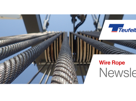 TEUFELBERGER-REDAELLI:WIRE ROPE NEWSLETTER